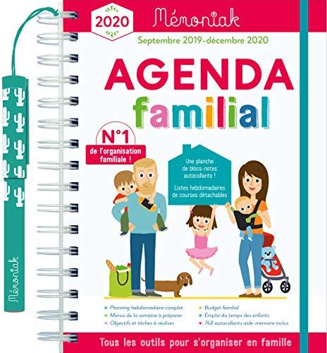Agenda Familial Memoniak 2019-2020 par  (Reliure inconnue - Jun 7, 2019)