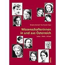 Wissenschafterinnen in und aus Österreich