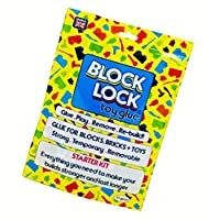 BLOCK LOCK ® TOY glue STARTER KIT for LEGO ®, MEGA BLOKS, KINEX and other toys, building bricks + customising clothes and accessories