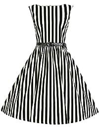 Valin M124618D Robe de bal Vintage pin-up 50's Rockabilly robe de soirée cocktail,S-XXXXL