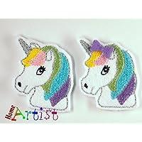 EINHORN Haarspange für Babys und Kleinkinder - freie Farbwahl