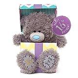 "Me to You SG01W4114 7-Inch Tall ""Tatty Teddy Happy 16th Birthday inside a Present Sits"" Plush Toy"