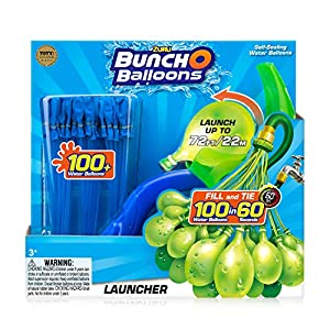 Zuru 1241 Bunch O Balloons Launcher - Catapulta (Incluye más de 100 Bombas de Agua)