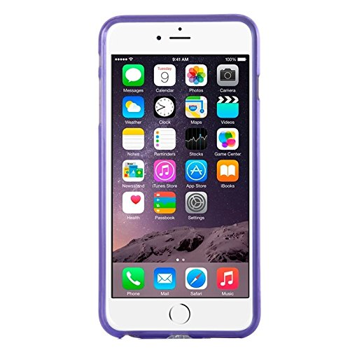 Phone case & Hülle Für iPhone 6 Plus / 6S Plus, Frosted TPU Fall ( Color : Purple ) Purple