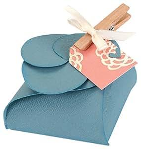 Sizzix, Timeless Love, Set di 6 fustelle, motivo: Scatolette regalo