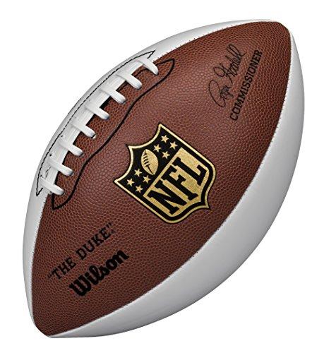 Wilson American Football, Für Sammler, Offizielle Größe, NFL AUTOGRAPH, Braun/Weiß, WTF1192