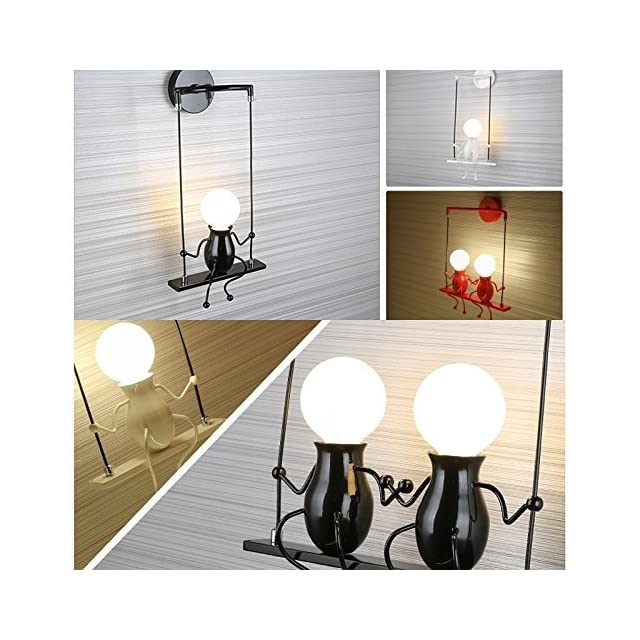 Lampe Murale Miroir Lampe Applique Murale En Metal E27 Effet Lampe
