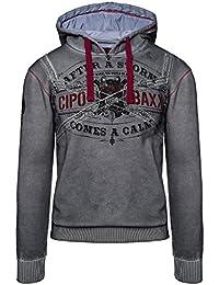 CIPO & BAXX Hoodie Sweater Pullover Kapuzenpullover Herren