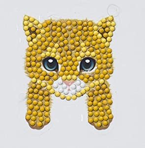 Craft Buddy Crystal Art- Conjuntos de Arte Creativo, Multicolor (CAMK-6 +Tools)