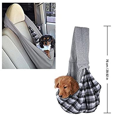 OSPet Companet Pet Carrier Sling Soft Comfortable Reversible Dog Pouch Front Shoulder Pack Backpack Pouch Shoulder Carry… 3