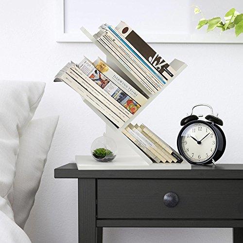 Moderno semplice bookshelf atterraggio creativo a forma di albero espositore magazine ripiani storage rack