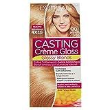 L'Oréal Paris Colorazione Capelli Casting Crème Gloss, Tinta Colore Trattamento senza Ammoniaca per una Fragranza Piacevole, 801 Biondo Seta