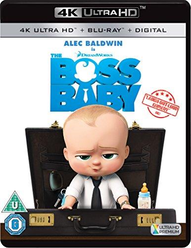 Bild von The Boss Baby [4K Ultra HD + Blu-ray + Digital HD] [2017]