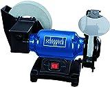 Scheppach 5903105903 Nass-Trocken-Schleifer BG200W, 250 W, 230 V, blausilberschwarz