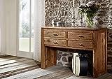 MASSIVMOEBEL24.DE Massivholz Akazie Möbel Honig Konsolentisch Massivmöbel massiv Holz Shaman #72