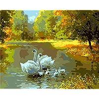 DH Murals impresión de Arte Lienzo Pintura Decorativa Pintada a Mano Pura Pintada a Mano del Paisaje de la Sala de Estar de la Pintura al óleo