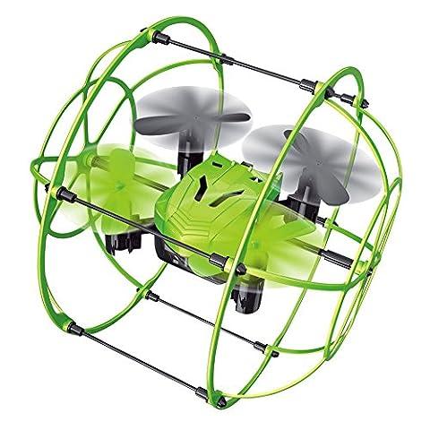 Helic 1336 MINI Sky Walker Avion Radiocommandé 4 Axes Quadrirotor Murs d'escalade Jouet et Jeux Parfait Cool Vert
