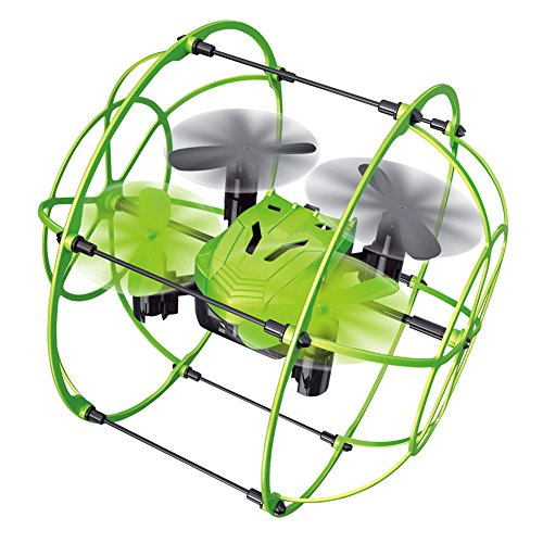 Enjoydeal Mini RC Drone 2.4GHz Remote Control Sky Walker Climbing Wall Aircraft 6 Axis Quadcopter Drone Green