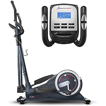 Sportstech CX625 Crosstrainer - Smartphone App kompatibel, 24 KG Schwungmasse + Training mit Street View Ansicht und 22 Trainingsprogrammen mit HRC-Funktion + Tablet Halterung + Multifunktionskonsole