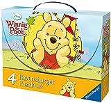 Ravensburger 07201 - Winnie Pooh und die Schmetterlinge - 2 x 25 Teile / 2 x 36 Teile Puzzlekoffer