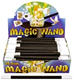6 Magic Wands 26.5cm / Gift Favours / Tricks Childrens Kids Party Bag