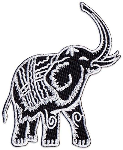 Thai elefante parche planchar Patch boho Natural Tailandia