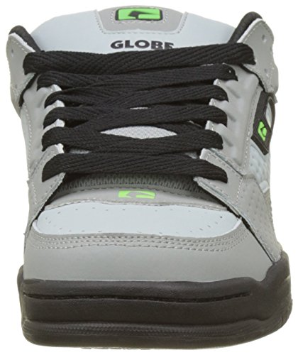 Globe Scribe, Chaussures de Skateboard Homme Multicolore (Grey/Black/Lime)