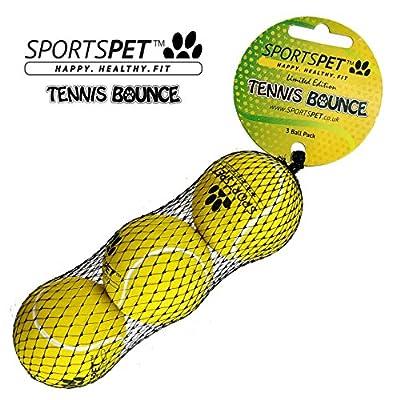 SPORTSPET High Bounce Rubber Dog Balls from SPORTSPET
