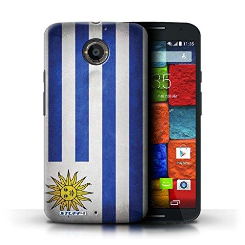 Kobalt® Imprimé Etui / Coque pour Motorola Moto X (2014) / Iran conception / Série Drapeau Uruguay/Uruguayen