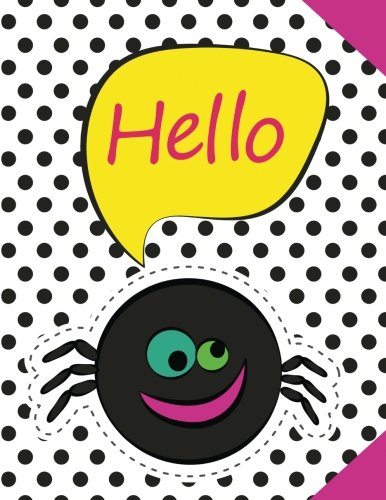 te Notebook Journal For Kids - Halloween: 120 Pages With Drawing Box on Top Half of Page and Lines on Bottom Half School Journal - 8.5 by 11 inches (More Kool Kidz) ()