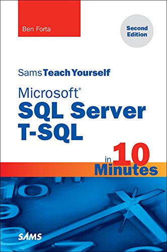 microsoft-sql-server-t-sql-in-10-minutes-sams-teach-yourself