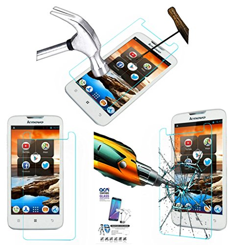 Acm Tempered Glass Screenguard For Lenovo A680 Mobile Screen Guard Scratch Protector  available at amazon for Rs.179