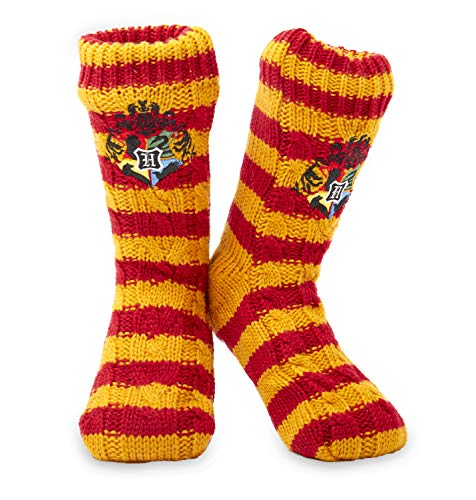 Harry Potter Calcetines Antideslizantes Mujer Con