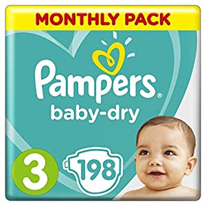 Pampers Baby-Dry Nappies, 8