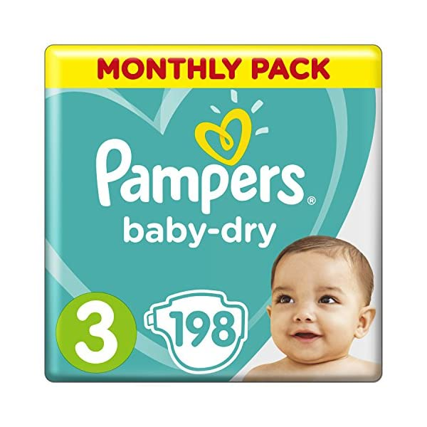 Pampers Baby-Dry Nappies, 1