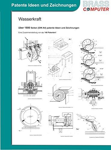 Wasserkraft, über 1800 Seiten (DIN A4) patente Ideen und Zeichnungen