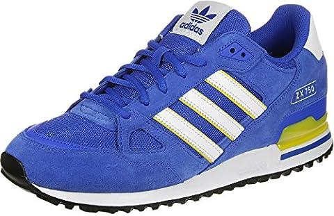adidas Originals Herren Zx 750 Sneaker, Blau (Blue), 44 2/3 EU