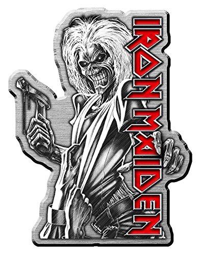 Iron Maiden Pin Badge Killers Album Band Logo Nue offiziell Metal Lapel -