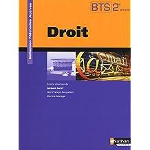 Droit - BTS 2e année