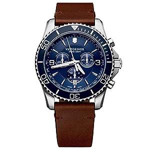 Victorinox Hombre Maverick Chronograph – Reloj de Acero Inoxidable