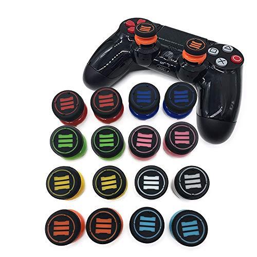 Daumengriffe, Daumenverlängerung, Joystick-Kappe für Playstation 4 PS4 Controller PS4 Slim Pro Controller, 2 Stück Pink COD