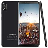 Cubot J3 Smartphone Android, 5.0 Pollici Telefoni 3g, Smartphone Dual Sim, Fingerprint Smartphone, MT6580 1.3GHz Quad Core, 1GB RAM 16GB ROM, 8MP+5MP Camera, Android Go Cellulari, Wifi,GPS- Nero