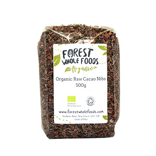 Forest Whole Foods Organic Raw Cacao Nibs, 500 g