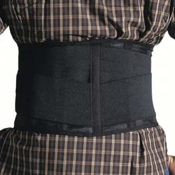 Ceinture lombaire - ceinture de maintien du dos réglable pour travail de force