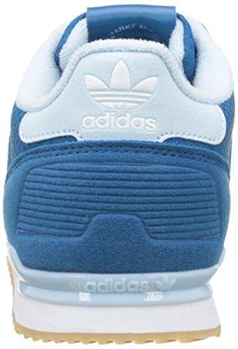 adidas - Zx 700 J, Scarpe sportive Bambino Blu (Unity Blue/craft Blue/ftwr White)