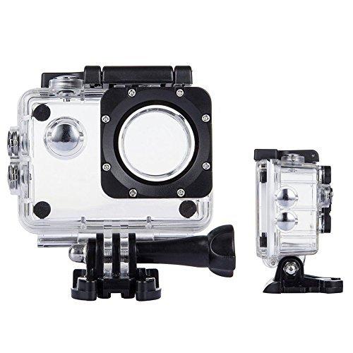 Tek Professional Wasserdicht Fall Schutz für sj7000/Lightdow LD6000WiFi 1080P/DBPOWER ex5000/vtin/Apeman/nexgadget 4K Sport Action Kamera