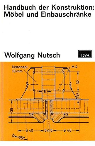 Handbuch der Konstruktion: Mbel und Einbauschrnke