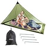 Unigear Mosquitera Camping Portátil 2 Personas Para Acampa Campaña Hamaca Red Antimosquitos Mosquito Net 240X140X130CM