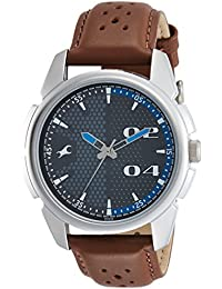 Fastrack Loopholes Analog Grey Dial Men's Watch-NL3124SL06