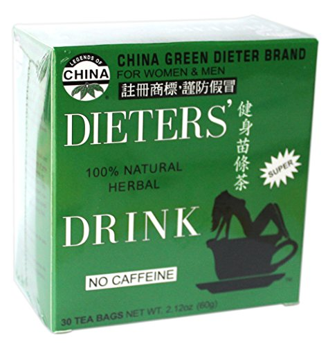 Uncle Lee's China Green Dieters Tea -- Dieters' Drink For Weight Loss 30 Tea Bags ... -